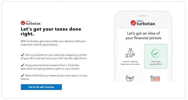 個人確定申告ソフト「TurboTax」