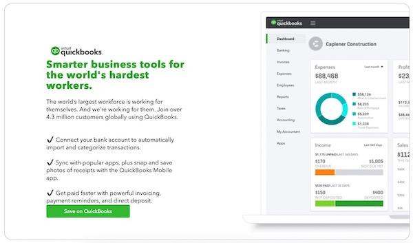 中小企業会計ソフト「QuickBook」